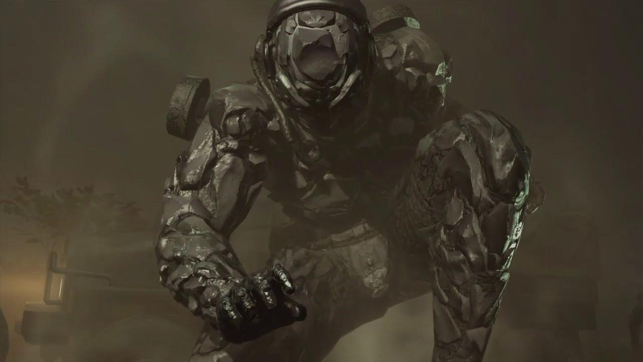 Metal Gear Solid V: The Phantom Pain - Skulls Parasite Unit Armored Version  Boss Fight 5