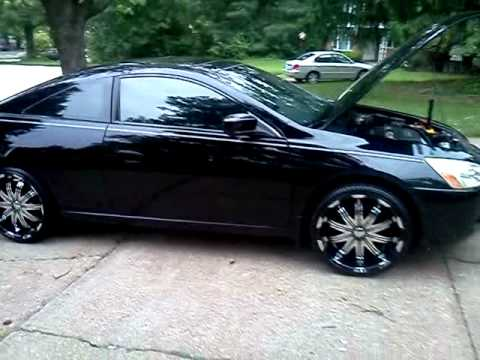 Verde Avatar Rims 03 Honda Accord Youtube