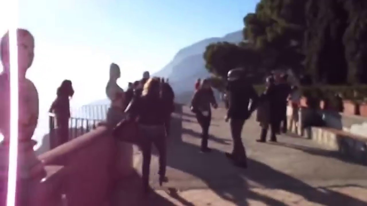 Ravello villa cimbrone terrace of infinity youtube for Terrace of infinity