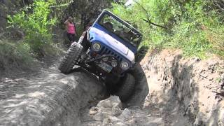 The Texas Hill Country Off Road TJ Wheeling