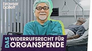 """""""Das Widerrufsrecht für Organspende"""""""