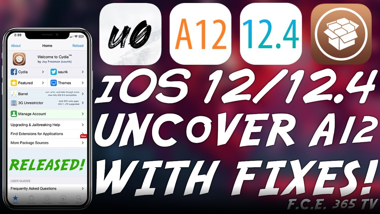 iOS 12 4 / 12 0 Unc0ver A12 JAILBREAK: Beta 2 / 3 RELEASED With Camera /  FaceID, GPS, etc  FIXES!