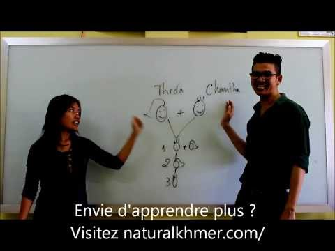 Học tiếng Khmer - Bài 5: Gia đình