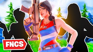 I Played FNCS With A Last Minute Trio... (Fortnite Battle Royale)