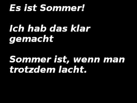 jetzt ist sommer wise guys youtube. Black Bedroom Furniture Sets. Home Design Ideas
