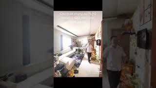 image Cho thuê căn hộ chung cư 75m2 ngõ 622 minh khai 2pn full đồ giá 9tr