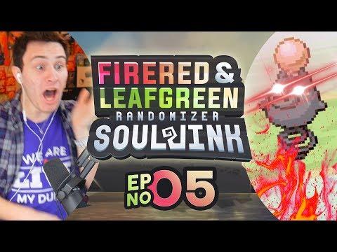 SPOIINNKKK!!! | Pokemon Fire Red & Leaf Green Randomized Soul Link EP 05