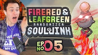 SPOIINNKKK!!! | Pokemon Fire Red & Leaf Green Randomized Soul Link EP 05