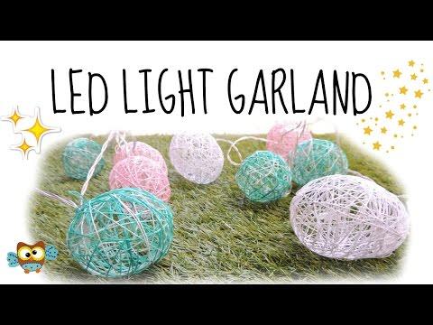LED LIGHT GARLANDHOME or ROOM DECOR