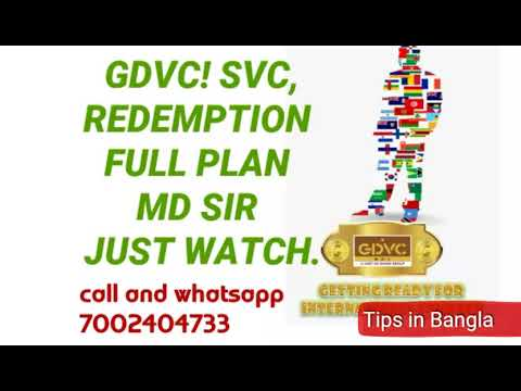 GDVC! SVC REDEMPTION FULL PLAN Details VIDEO MD SI