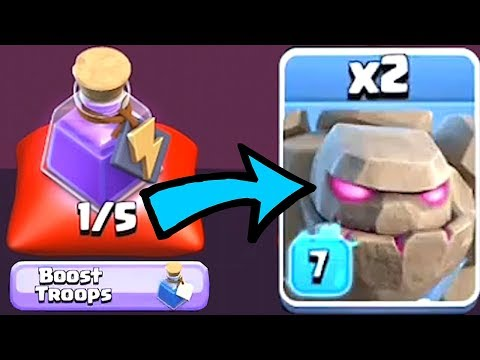 BOOSTED TROOPS SPELL!?! | Clash Of Clans | NEW SPELL!!!