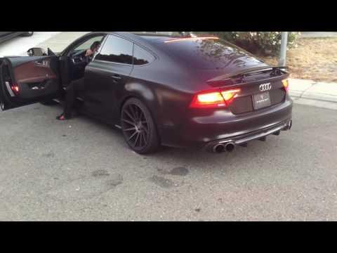 Audi A7 muffler delete