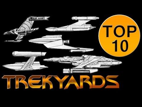 Trekyards Top 10 -  Romulan Fasa Ships
