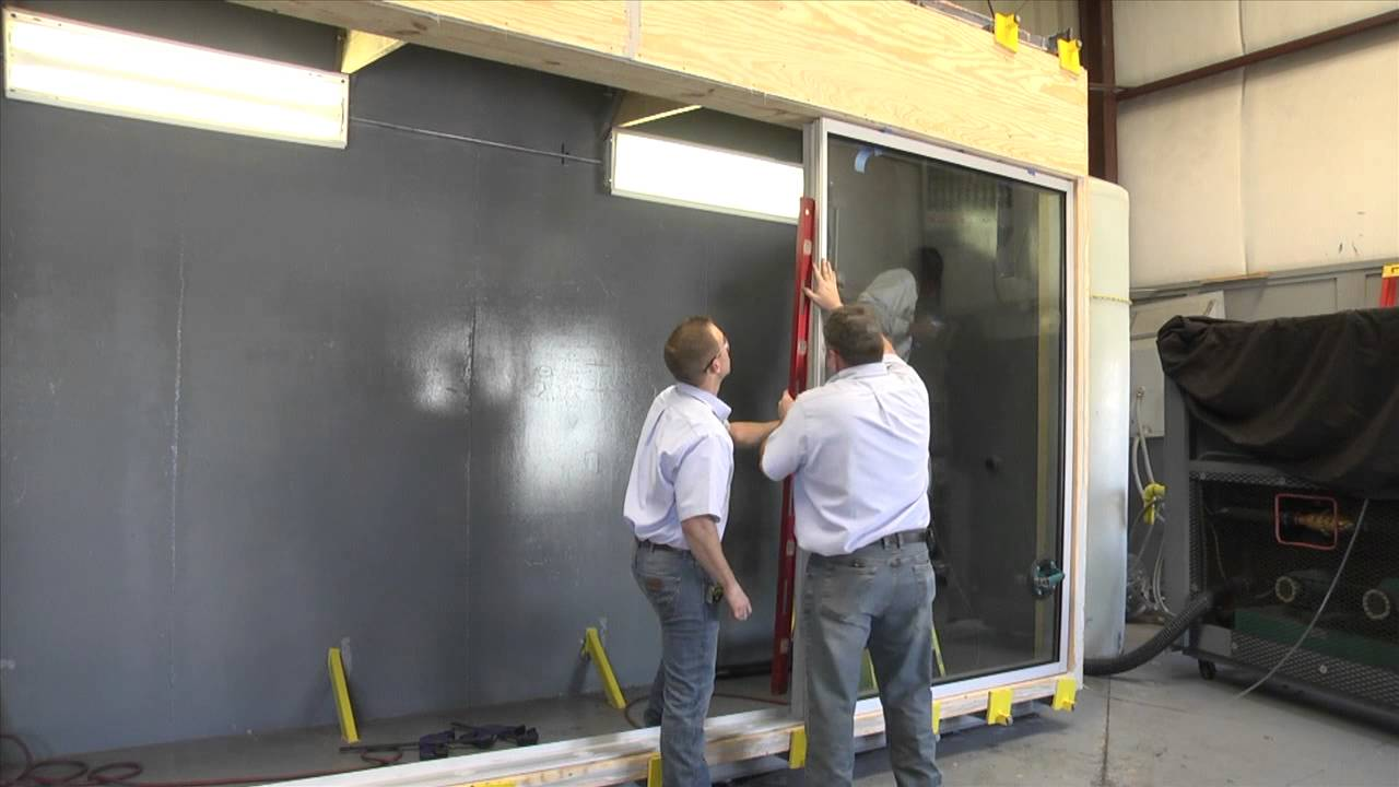 Crl U S Aluminum Unit Glazed Storefront System Youtube