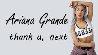 Thank U, Next - Ariana Grande (Lyrics) - Crave Music ツ