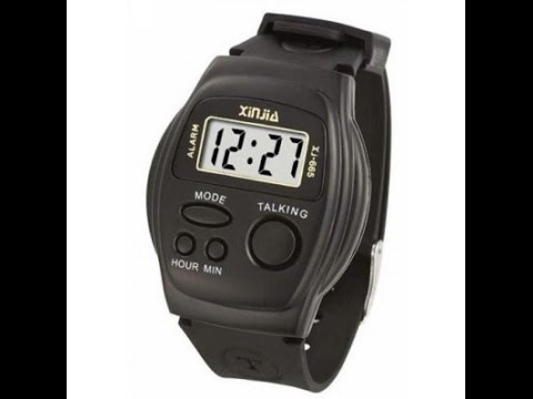 Talking Watch For Blind Man And Old Man