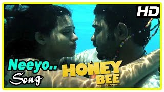 Latest Malayalam Movie 2017   Honey Bee Climax Scene   Asif and Bhavana unite   Neeyo Neeyo Song  