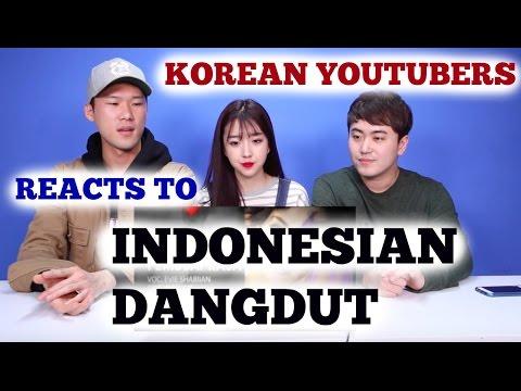KOREAN Youtubers Reacts to INDONESIAN DANGDUT | Sunnydahye