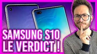 SAMSUNG S10 Plus et S10e vs iPhone X : le verdict ❗️ thumbnail