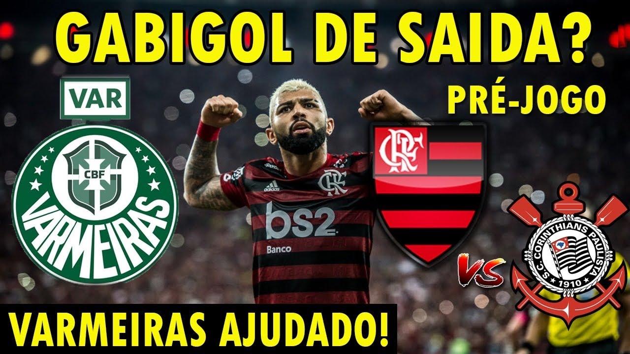 Gabigol No Porto Varmeiras Ajudado E Flamengo Prejudicado De Novo Pela Cbf Pré Jogo Fla X Cor