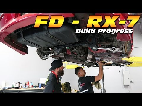 MAKING THE UNDERSIDE OF THE FD RX-7 *LIKE* NEW!
