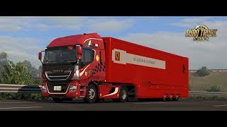 [ETS2] 511 超かっこいい! Ferrari Transport Trailer で『男のロマン』を運ぶ