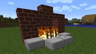 Minecraft - Şömine Nasıl Yapılır ?