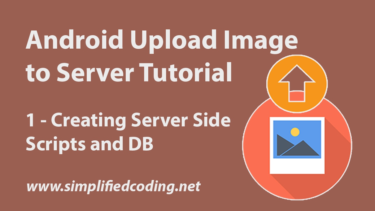Android Upload Image using Android Upload Service