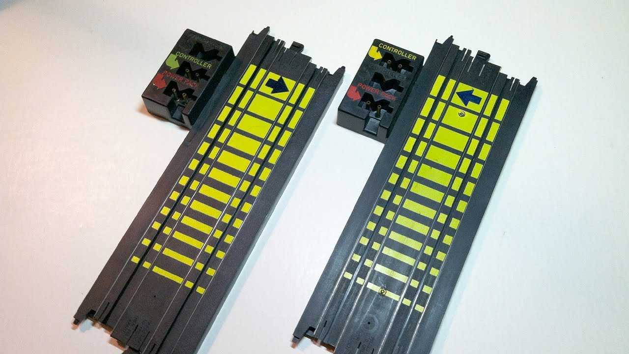 how to modify ho tyco slot car terminal track for a large layout [ 1280 x 720 Pixel ]