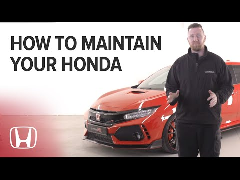 Top Tips for Maintaining your Car - Honda UK