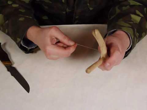 Как сделать рогатку на щуку своими руками