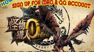 Comment s'inscrire pour Monster Hunter en Ligne et QQ Compte