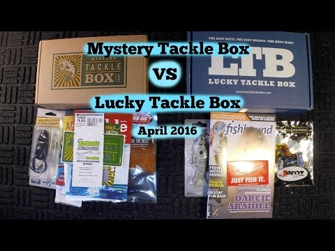 Mystery Tackle Box VS Lucky Tackle Box - April 2016