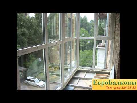 "Установка балкона ""француз"" леси украинки 16 - filmango down."