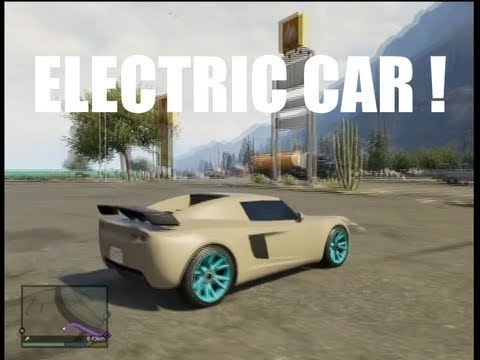 gta v voiture electrique tr s rapide o la trouver youtube. Black Bedroom Furniture Sets. Home Design Ideas