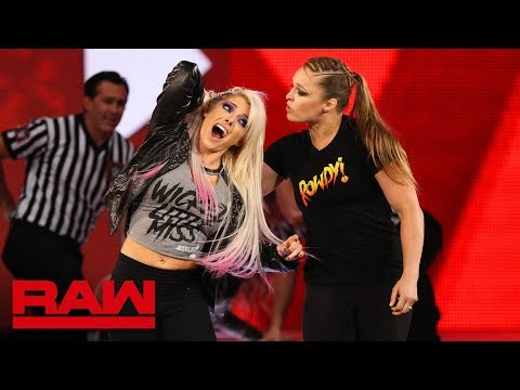 Ronda Rousey violates suspension to brutalize Alexa Bliss: Raw, July 16, 2018 Mp3