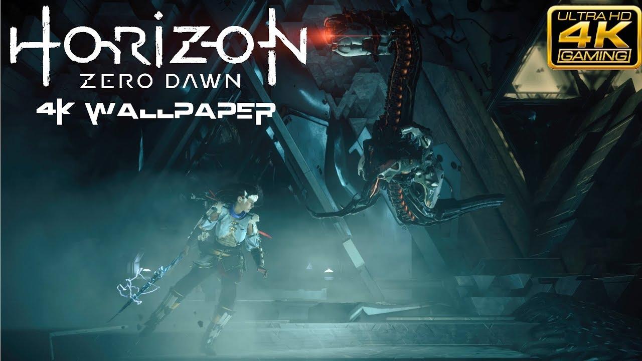 Horizon Zero Dawn 4k Wallpaper Youtube