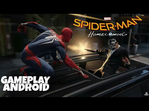 [420MB]How To Download and play Spiderman:Homecoming Game in  Android+Gameplay