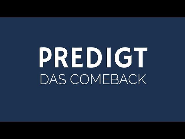 Das Comeback - Ostergottesdienst | ELIM KIRCHE GEESTHACHT | HD