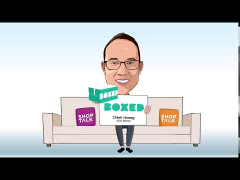 Chieh Huang, CEO, Boxed Wholesale