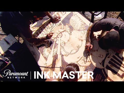 Burn Ba Burn: Wood Burning 🔥Flash Challenge Sneak Peek  Ink Master: Grudge Match Season 11