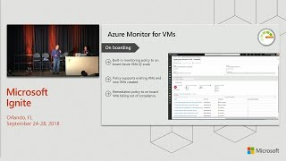 Monitor your infrastructure and analyze operational logs at scale with Azure Monitor - BRK3354