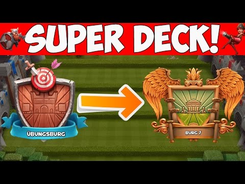 SUPER DECK FÜR JEDE BURG! || CASTLE CRUSH || Let's Play CC [Deutsch German]
