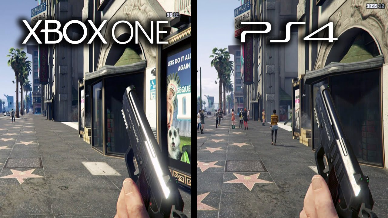 Grand Theft Auto V Xbox One vs Playstation 4 Graphics ...Xbox One Vs Ps4 Graphics