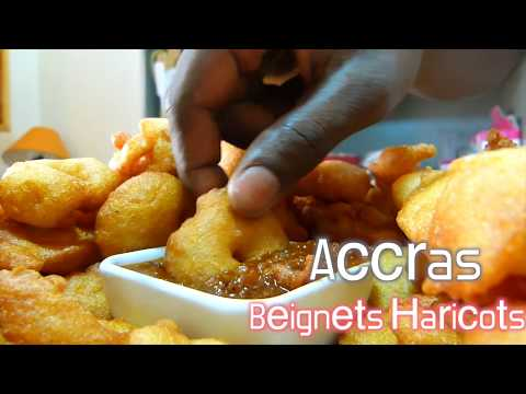 Accras (Beignets Haricots)