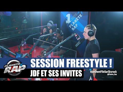 Youtube: Joé Dwèt Filé – Session freestyle avec Kanoé, Dinor, VVES & Bakass! #PlanèteRap