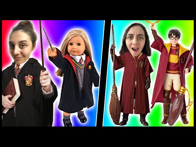 BUSE vs OUR GENERATION HARRY POTTER  KOMBİN KIYAFET CHALLENGE! MODA YARIŞMASI! Dobişko Tv
