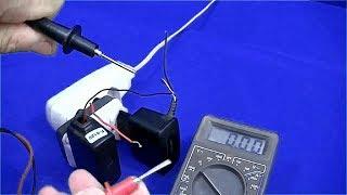como fazer uma fonte de 12 volts com carregador de celular