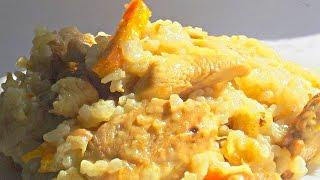 Рис по-Китайски с Курицей и Имбирем кулинарный видео рецепт