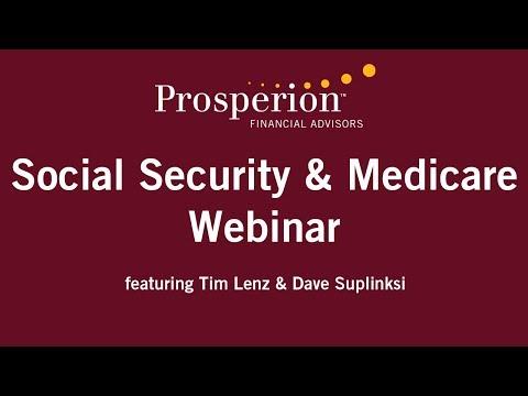 Social Security & Medicare Webinar